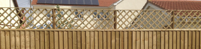 fence and trellis